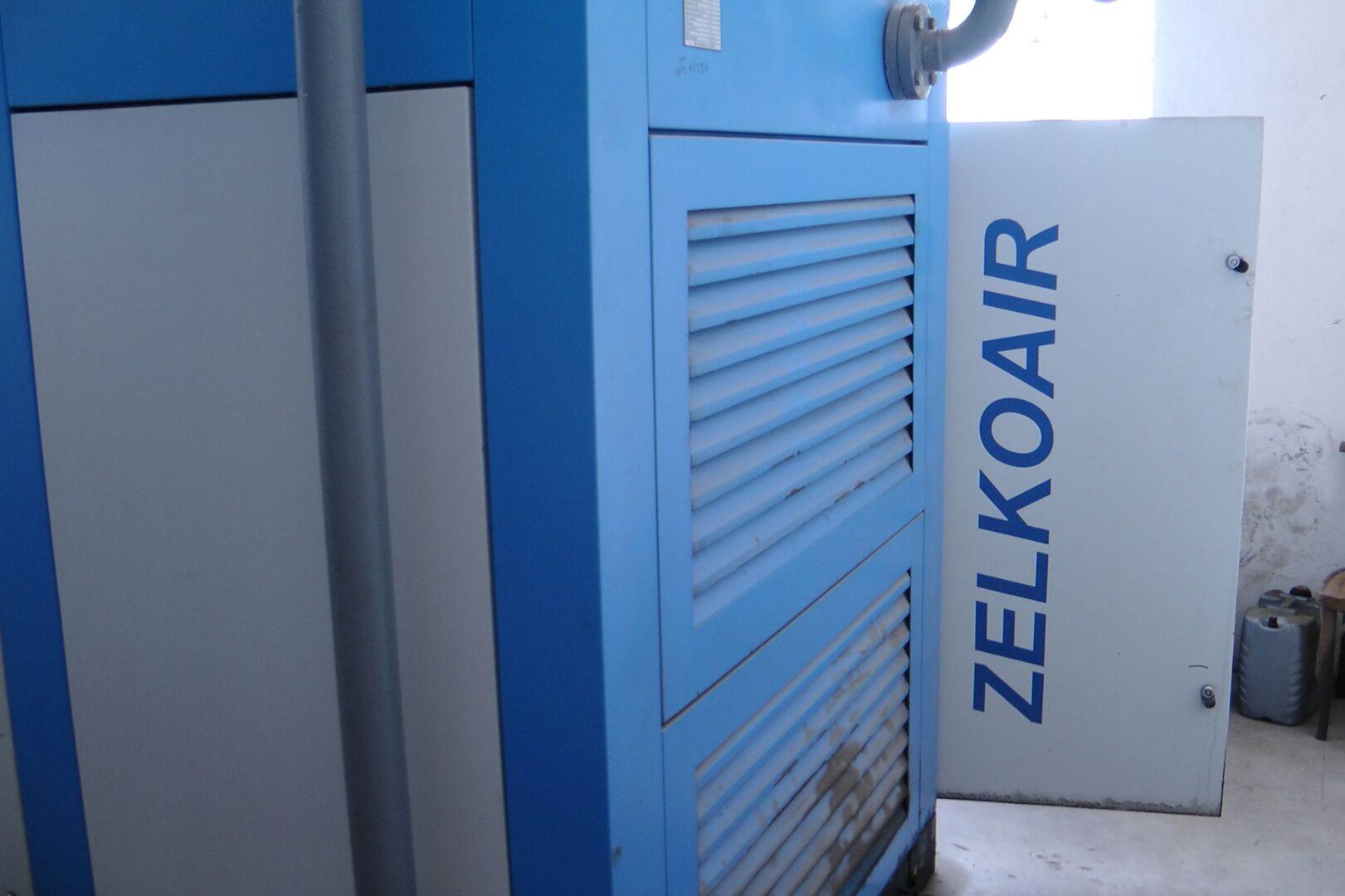ремонт гвинтового компресора Zelko